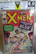 X-men 7 - Key Issue First Appearance Of Cerebro 8.0 Graded