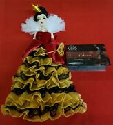 Disney Villains Designer Collection - Queen Of Hearts Doll Limited Edition