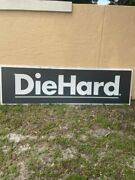 Huge Vintage Sears Diehard Lighted Sign From Closed Sears Store - 3and039 X 8and039
