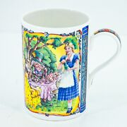 Alice In Wonderland James Sadler Classic Stories Collectible Mug Fine Bone China