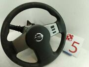 2005 Nissan Pathfinder Steering Wheel W Switches Air Safety Bag And Ignition W Key