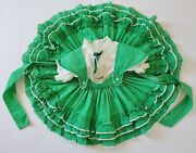 Vintage Martha Miniatures Weand039re Fussy Victorian Dot Ruffle Lace Dress Girl T3