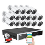 Annke 4k Video 8mp Ip Camera 32ch 12mp H.265+nvr Security Poe System Ip67 Onvif