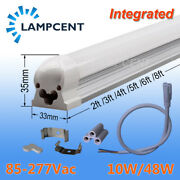 20-100/pack T8 Led Integrated Tube 23456 8ft Bulbs Linear Shop Light Fixture