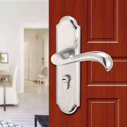 Privacy Door Security Entry Lever Mortise Handle Locks Full Kit Stainless Steel