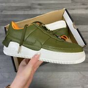 Womenandrsquos Nike Air Force 1 Jester Xx Prm Green/yellow Trainers Uk4.5 Us7 Eur38