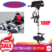 2200w 60v Electric Outboard Motor Fishing Boat Engine Tiller Control 2.2kw Usa