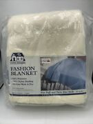 Vintage Beacon Home Designs Fashion Blanket Full And Twin Size Beds 72andrdquox90andrdquo White