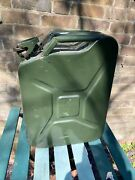 Military Army 20 Litre Metal Jerry Can Water Petrol Diesel 2007