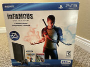 Playstation 3 Console 250gb - Bundle - Infamous Collection Ps3