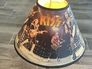 Kiss Axe Bass Guitar Table Lamp Gene Simmons Ace Frehley Paul Stanley Peter 2008