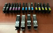 Lot Of 19 Empty Genuine Canon 250xl 251xl 250 251 Ink Cartridges