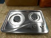 Capital 1204ss 2 Burner Drop-in Cooktop Stainless Steel Rv Free Ship 35