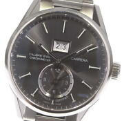 Tag Heuer Carrera War5012-2 Gmt Calibre 8 Gray Dial Automatic Menand039s Watch_608774