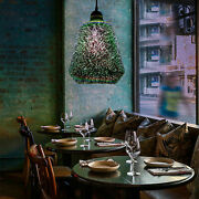 Glass 3d-color Ceiling Lights Hanging Pendant Lamp Chandeliers Shape Chic Usa