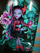 Monster High Gloom N Bloom Jane Boolittle Doll New Out Of Box