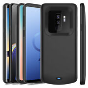 New External Power Bank Charger Case Charging Cover For Samsung Galaxy Battery