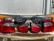 Bulk Auto Parts 2013 Kia Rio Hatchback Lights Front And Back With Bulbs