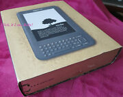 New Factory Sealed No Ads Kindle Keyboard Ebook Reader 6 Free Ship Wi-fi
