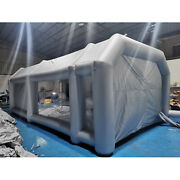 28x15x10ft Inflatable Spray Booth Paint Tent Mobile Portable Car Workstation New