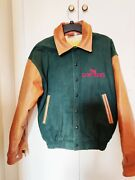 Disney Park And Resort Exclusive Lion King Jacket With Leather Collar/sleeves