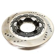 Triumph 37-7175 Drilled Front And Rear Brake Disc Rotor 4 Hole T140 Tr7 T150 T160