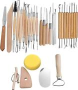30 Pcs Wood Carving Kit Tools Knife Sculpting Set Perfect Gift For Beginners