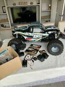 Losi Mtxl Monster Truck 5th Scale New Petrol Spectrum Ready To Run Upgrades
