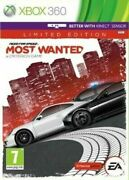 Need For Speed Most Wanted Limited Edition Xbox 360 Pegi 7+ Racing Car