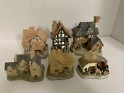 David Winter Cottages Lot Of 6 Coopers Spinners Little Market Blackfriars