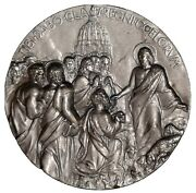 Pope John Xxiii Medal By Manfrini ,commemorate The Election 1958,vatican, 60 Mm