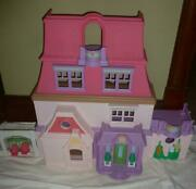 Fisher Price Loving Family Dollhouse 2014 Loaded Furniture+people L@@k