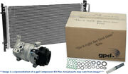 A/c Compressor-compressor Kit With Cond New Global Fits 2010 Buick Allure