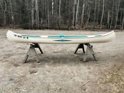 Vintage 17and039 Core Craft Canoe