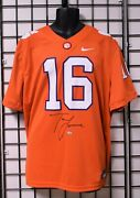 Trevor Lawrence Clemson Tigers Signed Ncaa Football Jersey - Fanatics Authentic