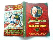 Jim Brown's 1935 Bargain Book-the Brown Fence And Wire Co.