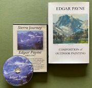 Composition Of Outdoor Painting Edgar Payne Book And Free Dvd Sierra Journey Nos