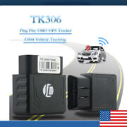 Gps Tracker Obd2 Real Time Vehicle Tracking Device Gsm Gprs Car Truck Locator Us