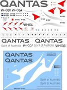 Bsmodelle 144466 - 1/144 Airbus A380 Qantas Decal For Aircraft Model Scale Kit
