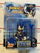 Sonic X Metal Force Sonic Action Figure Rare Toy Island Toys R Us New In Box