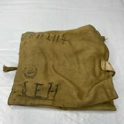 1940 Wwii Pilot 1st Dog Tag Kit Pouch Canada Rcaf Patch Kit Ww2 With Contents