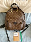 Louis Vuitton Monogram Palm Springs Backpack Mm M41561 Preowned With Tags Dustb