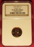 1951 Lincoln Cent Rare Find Cameo Ddo Ngc Pf66rd Doubled Die Obverse Fs-101