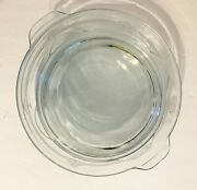 Vintage 3 Blue Fire King Or 2 + 1 Lid= 2 Casserole Dishes And 1 Small Pie Pan