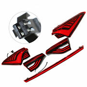 1 Pair Led Rear Tail Lights Sequential Lamps For Toyota Avalon 2019-2020 Red