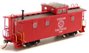 Durham And Southern - X86 Wood Caboose Rtr
