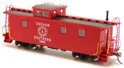 Durham And Southern - X85 And X86 Wood Caboose Rtr
