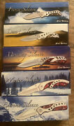 Silence Frost Cutlery Knife Collection lot Of 5 Knives Rare Free Shipping