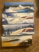 Silence Frost Cutlery Knife Collection lot Of 4 Knives Rare Free Shipping