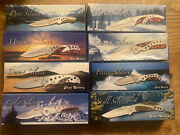 Silence Frost Cutlery Knife Collection lot Of 8 Knives Rare Free Shipping